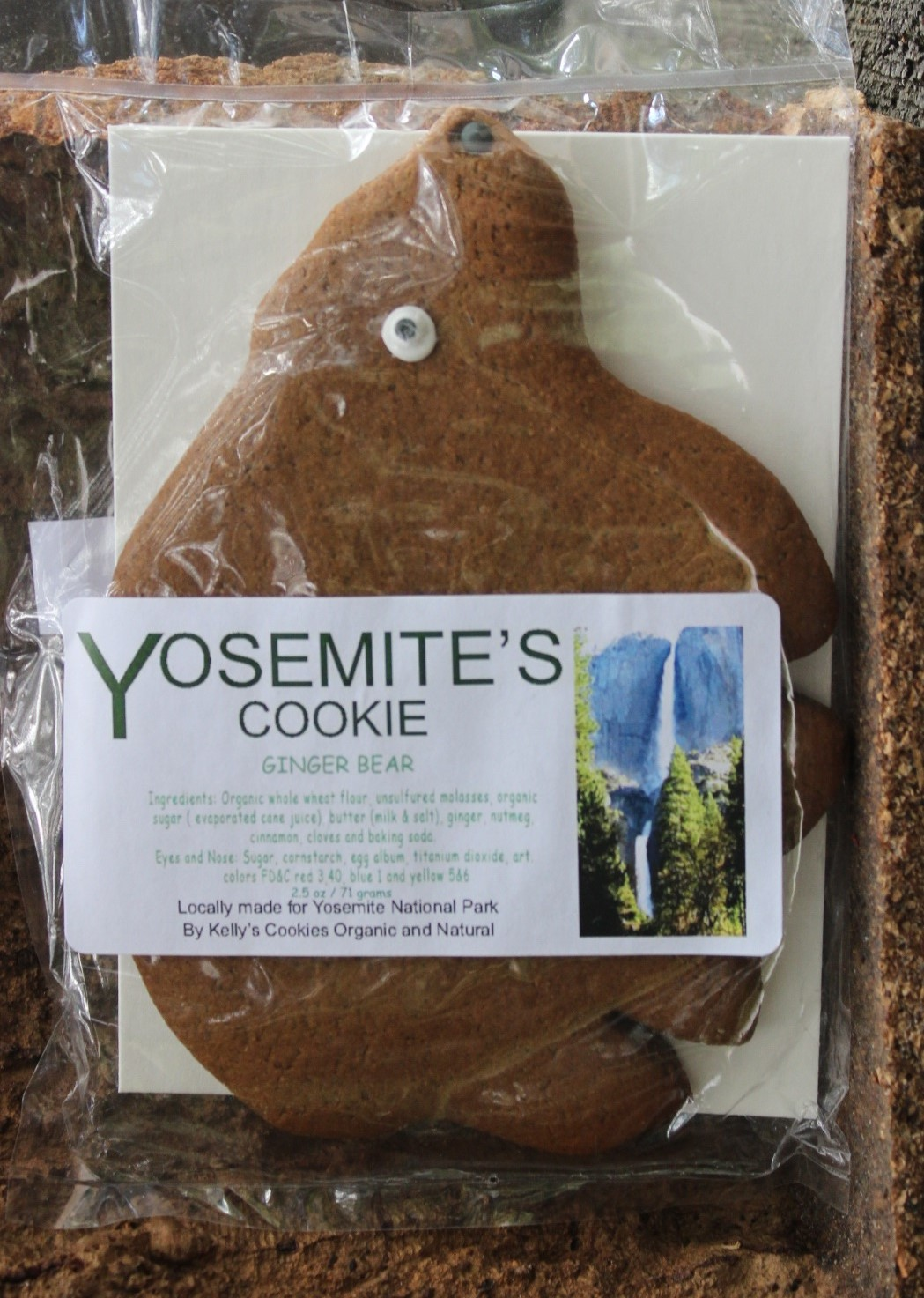 Ginger Bear Cookie Yosemite Online Store Official