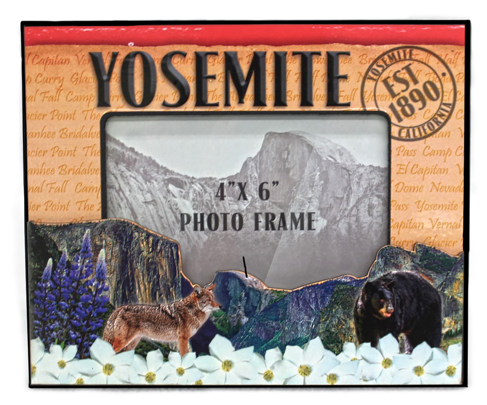 Yosemite Stamp Frame - Yosemite Online Store - Official Online Store