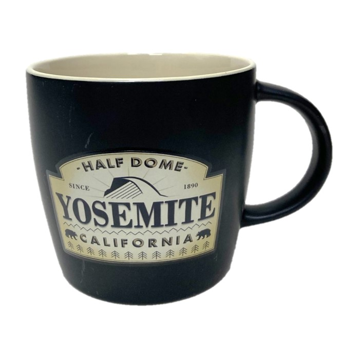 Yosemite Apothecary Half Dome Mug Yosemite Online Store Official Online Store